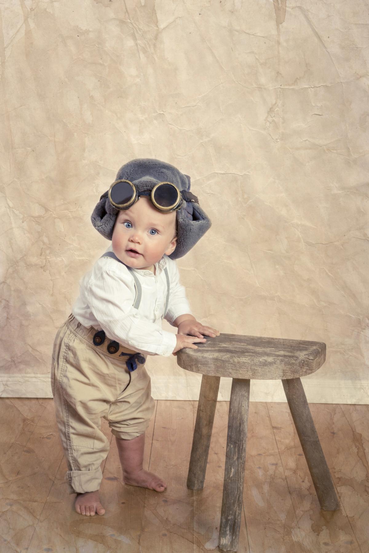 Vintage Kinderfoto